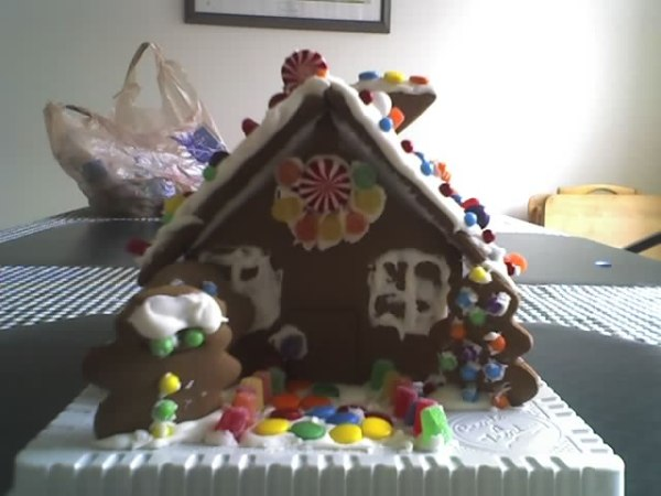 Our Fun Gingerbread House